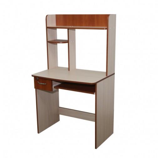 """Комп'ютерний стіл """"Іріда"""" Ніка меблі (компактний з надбудовою)"""