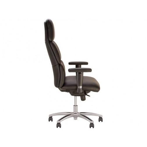 Крісло CALIFORNIA R steel ST AL68 Новий-Стиль (крісло керівника з поворотними підлокітнікамі)