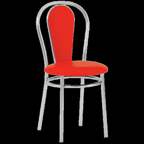 Стул Florino chrome Новый-Стиль (хромированный обеденный стул)