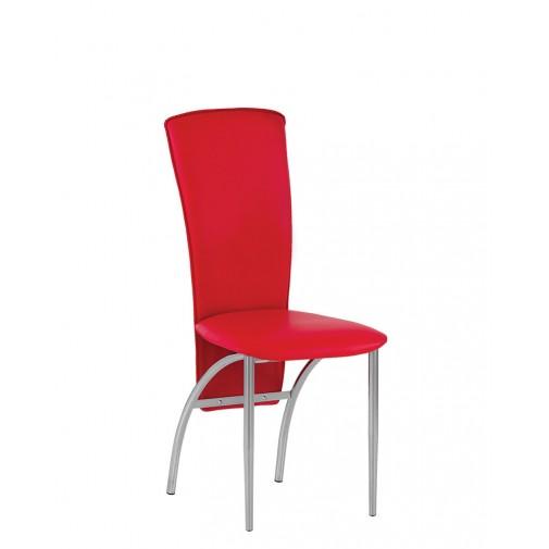 Стул Amely chrome Новый-Стиль (кухонный стул с высокой спинкой)
