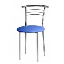 Стул Marco chrome Новый-Стиль (хромированный кухонный стул)