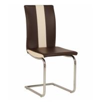 Стул Glen GF chrome Новый-Стиль (хромированный кухонный стул на салазках)