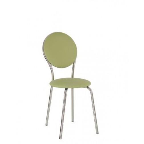 Стул Fast-time chrome Новый-Стиль (хромированный стул со спинкой)