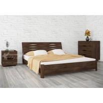 """Кровать деревянная """"Марита S"""" Олимп (с высоким изголовьем)"""