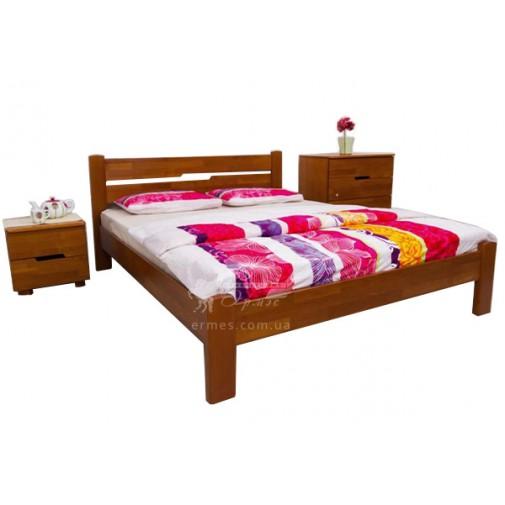 """Кровать деревянная """"Айрис"""" без изножья Олимп (с невысоким изголовьем)"""