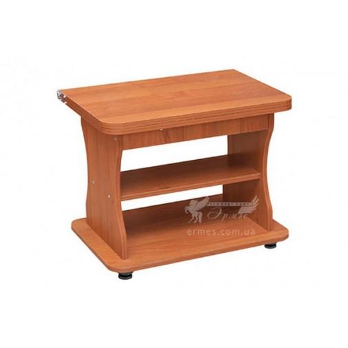 """Журнальний столик """"Альфа"""" Пехотін (прямокутний на коліщатках)"""