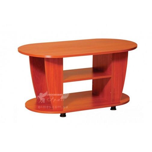 """Журнальний столик """"Крокус"""" Пtхотін (з додатковими полицями)"""