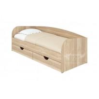 """Ліжко односпальне """"Соня-3"""" Пєхотін (з шухлядами та бортиками)"""