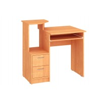 """Комп'ютерний стіл """"Дельта"""" Пехотін (прямий з полицею для клавіатури)"""