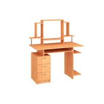 """Комп'ютерний стіл """"Пегас"""" з надбудовою Пехотін (з тумбою та шухлядами)"""