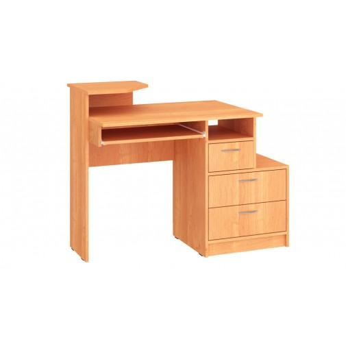 """Компьютерный стол """"Сигма"""" Пехотин (с ящиками и подставкой под монитор)"""