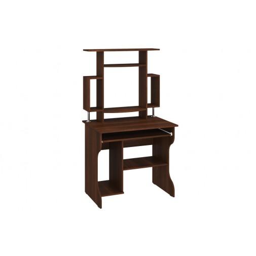 """Компьютерный стол """"Юпитер"""" с надстройкой Пехотин (с высокой открытой надстройкой)"""