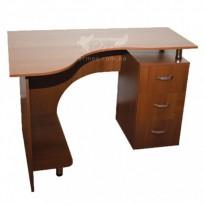 Комп'ютерний стіл Nika 7 Ніка меблі (компактний з ящиками)