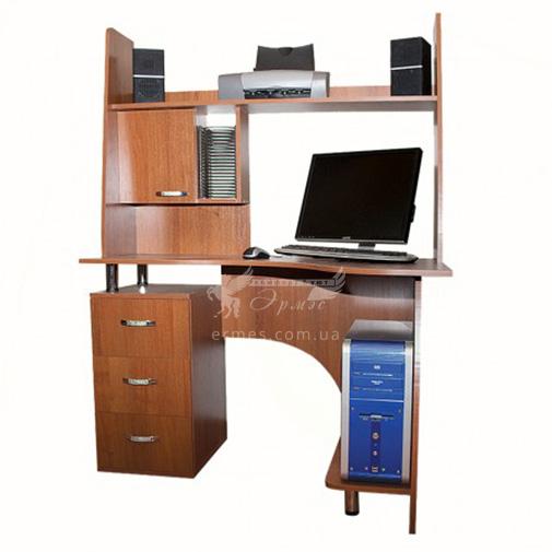 Компьютерный стол Nika 8 Ника мебель (с функциональной надстройкой)
