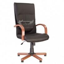Кресло CREDO extra Tilt EX1 Новый-Стиль (кресло руководите с деревянными подлокотниками)