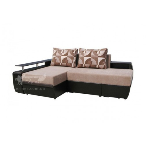 """Кутовий диван """"Барселона"""" поворотний Просто Меблi (широкий зі спальним місцем)"""