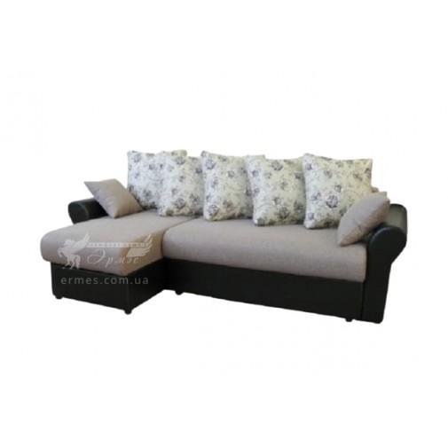 """Кутовий диван """"Варшава"""" Просто Меблi (з декоративними подушками)"""