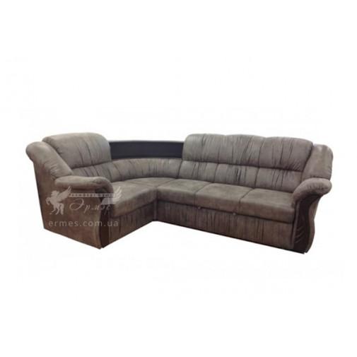 """Кутовий диван """"Глорія 1"""" Просто Меблi (зі спальним місцем)"""