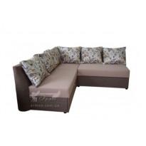 """Угловой диван """"Кастро"""" дельфин Просто меблi (с декоративными подушками)"""