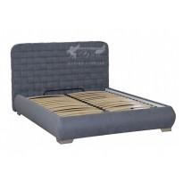 """Кровать """"Модена"""" Просто меблi (с высоким мягким изголовьем, на ламелях)"""