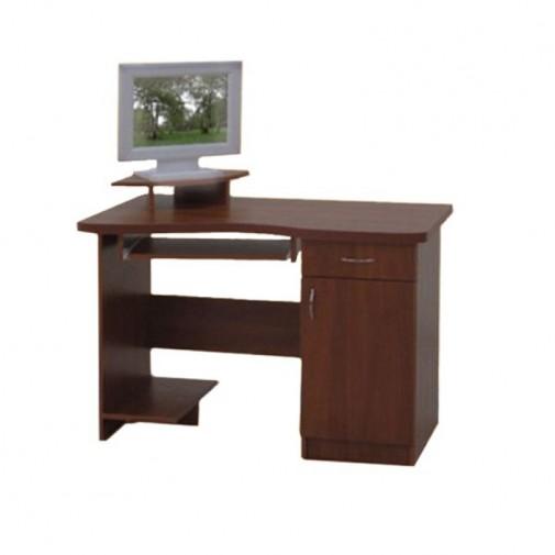 Комп'ютерний стіл 1100 Просто Меблi (із закритою тумбою)