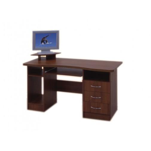 Комп'ютерний стіл +1400 Просто Меблi (з тумбою з ящиками)