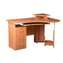 """Комп'ютерний стіл """"Універсальний"""" Просто Меблi (кутовий з висувна ящиками)"""