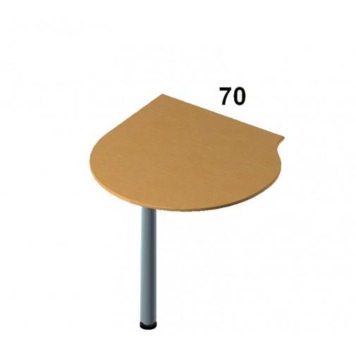 Стол приставной Бюджет - БЮ 207 ROKO