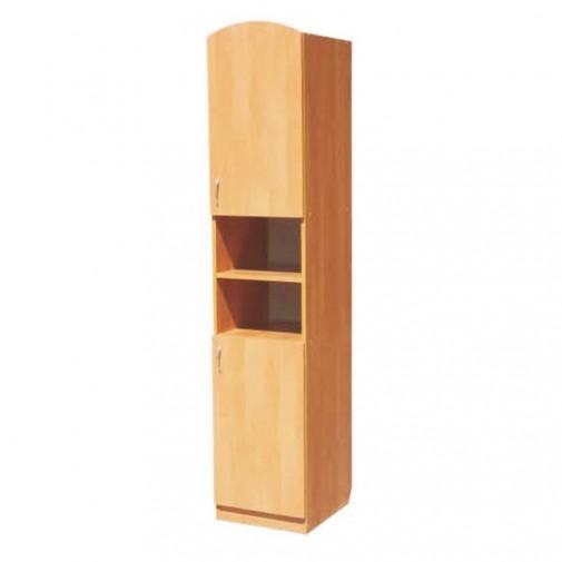 Пенал 01 РТВ мебель (узкий шкаф с открытыми полками)