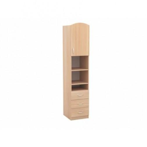Пенал 02 РТВ мебель (узкий шкаф с ящиками)