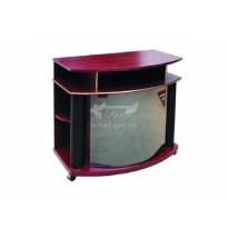 Тумба под телевизор РТB - 10 РТВ мебель (с открытыми полками)