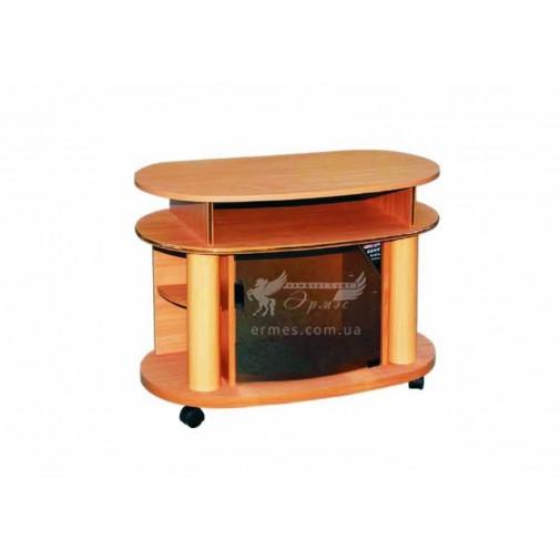 Тумба под телевизор РТB - 17 РТВ мебель (со стеклянной дверцей)
