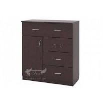 Комод 1х1х3 РТВ мебель (с ящиками и дверью)