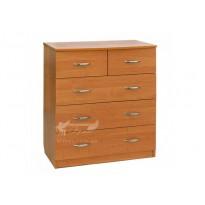 Комод 18 РТВ мебель (с ящиками разного размера)