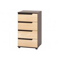 Комод 22 РТВ мебель (высокий с ящиками без ручек)