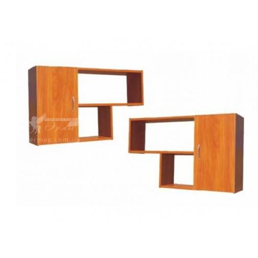 Полка навесная ПН-01 РТВ мебель (широкая с дверцей)