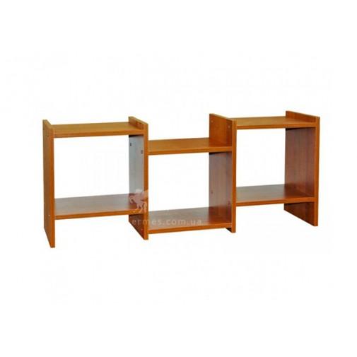 Полка навесная ПН-07 РТВ мебель (открытая на три отсека)