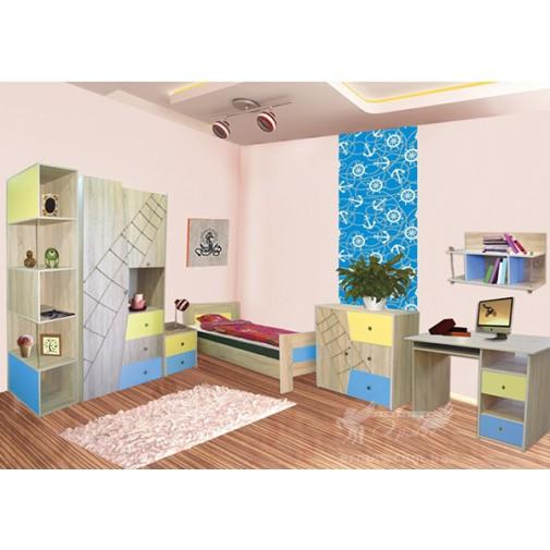"""Комплект подростковой мебели """"Юнга"""" СИЧ (комплект мебели)"""