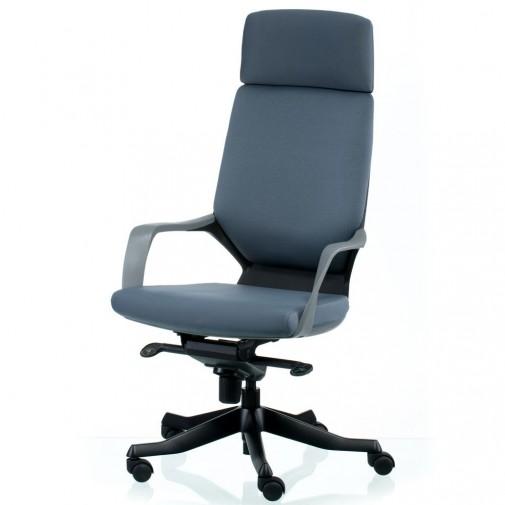 Кресло руководителя  Apollo grey/black E5432 Special4You (офисное кресло)