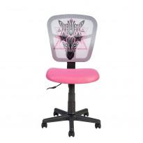 Детское компьютерное кресло Office4you ZEBRA pink 13301 Special4You