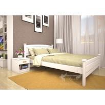 Ліжко ТИС МОДЕРН 11 Сосна (дерев'яне, біле)