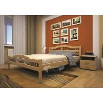 Кровать ТИС ЮЛИЯ 1 Cосна (деревянная на ножках)