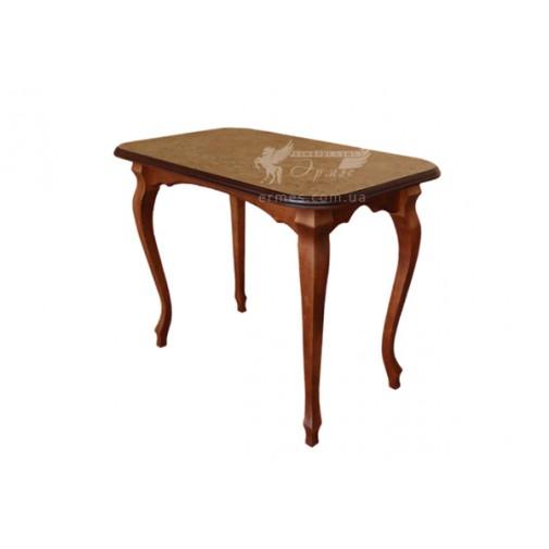 """Кухонный стол """"Гармония"""" бук ТИС (деревянный обеденный)"""