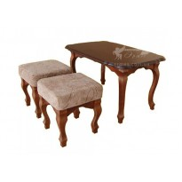 Журнальний стіл ТИС Гармонія бук (дерев'яний кавовий)