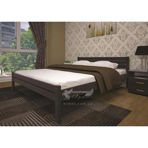 """Ліжко """"Класика"""" ТІС бук (дерев'яне на ніжках)"""
