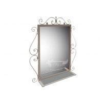 "Зеркало ""Амбер"" Tenero (настенное, в металлической раме)"
