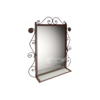 """Зеркало """"Ричмонд"""" Tenero (прямоугольное, в металлической оправе)"""