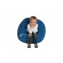 Кресло-мяч синий Тia-sport (бескаркасная мебель)