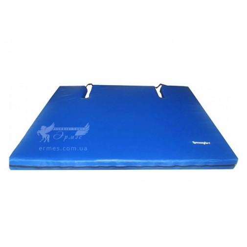 Мат с вырезом 120-100-10 см Тia-sport (для спортзалов)
