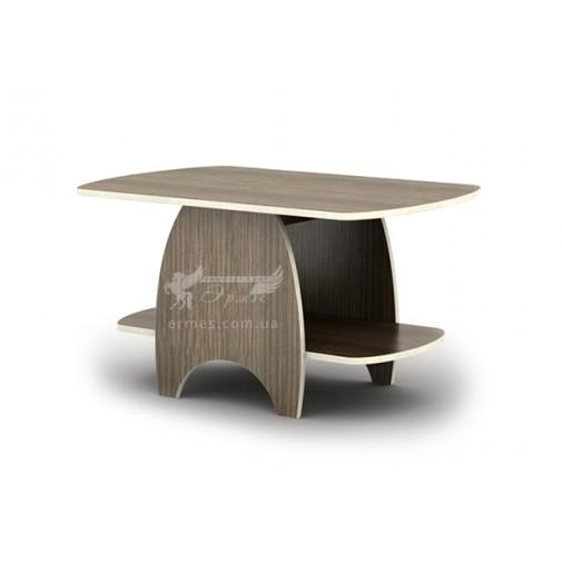 Журнальный столик Батик СЖ Тиса мебель (с дополнительной полкой)